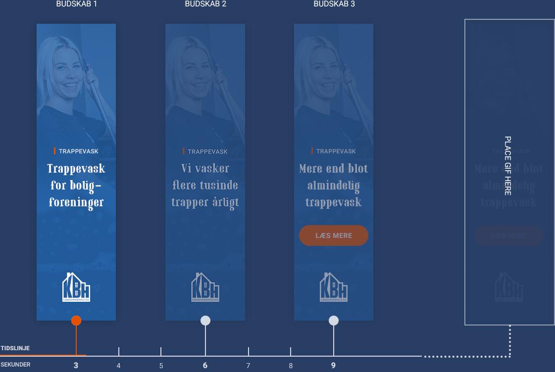 Kbh ejendomsservice banner koncept fremvisning og timing